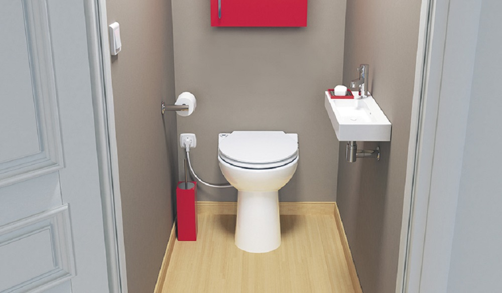 WC-sanibroyeur